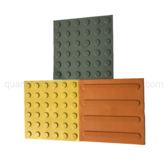 OEM PVC 300X300 Plastic Ceramic Blind Sidewalk Brick