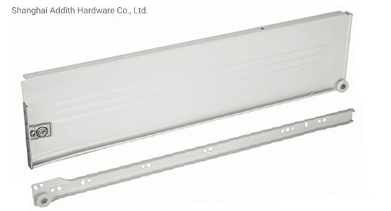 Metal Box Undermount Drawer Powder Coating Cabinet Slide