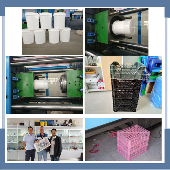 Bst-5500A Injection Molding Machine for Plastic Basket pictures & photos