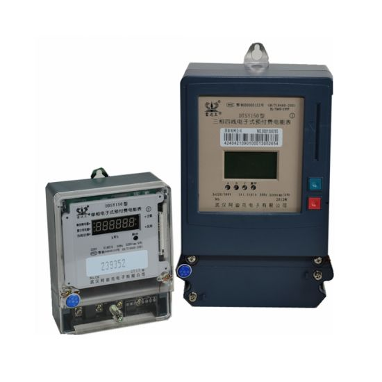 Three Phase Digitalized Ative Energy Measurement Kwh / Power Meter