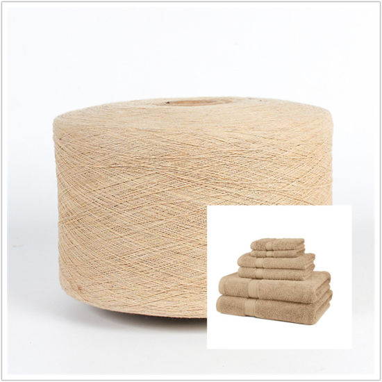 Open End Spinning Ne20-Ne30 Recycled Yarn Regenerated Cotton Blended Yarn for Towel pictures & photos