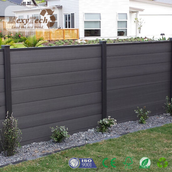High Quality Durable Outdoor WPC Garden Zone Fence