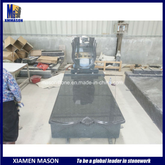 Chinese Natural Stone G654 Tombstone for Hungary Market