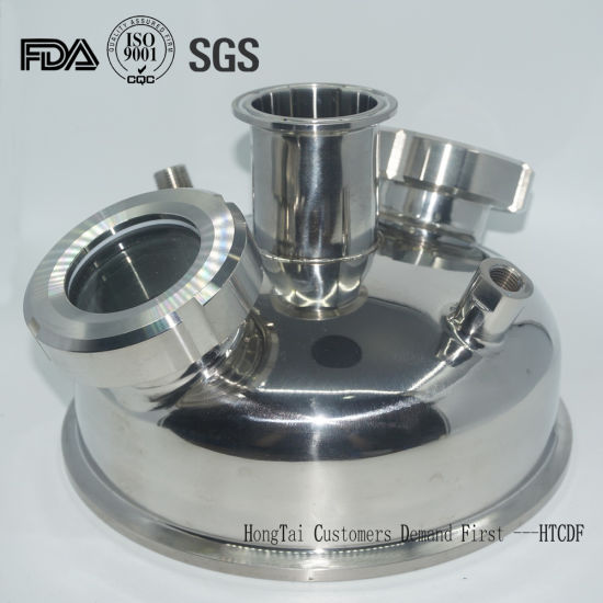 Stainless Steel Sanitary Vacuum Chamber Lids with Sight Glass