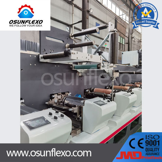 High Speed Multifunctional Combination Label and Film Flexography Printing Machinery 200m/Min