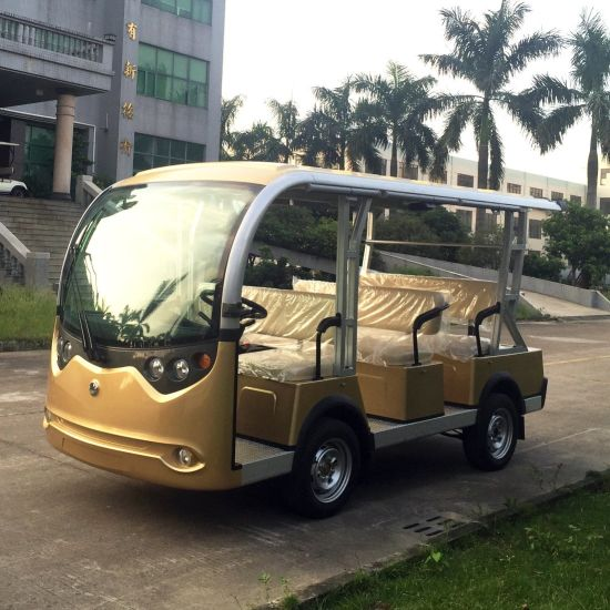 Battery 8 Passenger Sightseeing Bus (Lt-S8) pictures & photos