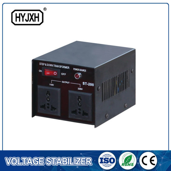 China Single Phase 220V 10kv Automatic Electrical Voltage Stabilizer ...