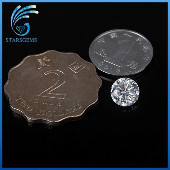 6.5mm 1.0 Carat Round 9 Hearts and 1 Flower Excellent Cut Moissanite Gemstones pictures & photos