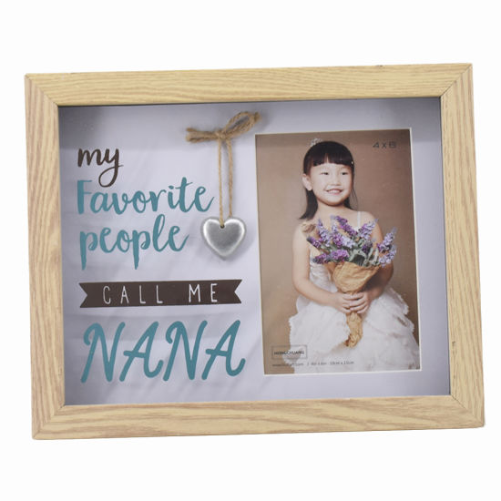 China Wooden Picture Frame Home Decor Latest Personalized Photo