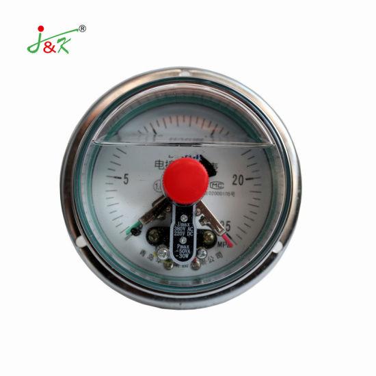 Hot Sales Shock -Resistant Electric Contact Pressure Gauge Manometer