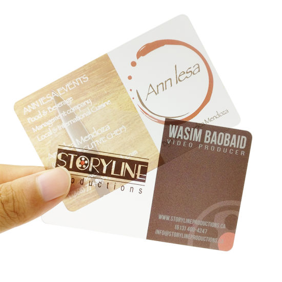 China cheap price one side printing plastic clear business card cheap price one side printing plastic clear business card colourmoves
