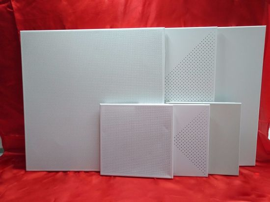 China Wholesale Powder Coating Decorative Materials for Eco-Friendly Ceiling Tiles Great Materials pictures & photos