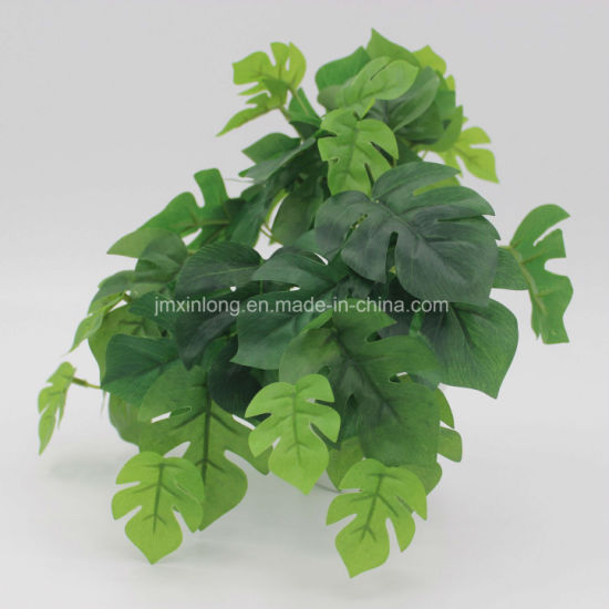 Real Looking Artificial Plant Monstera Bonsai for Decorate pictures & photos
