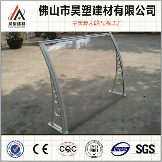 800*1000mm Polycarbonate Solid Awning Aluminum Frame Balcony Canopy Outdoor Buliding Materials pictures & photos