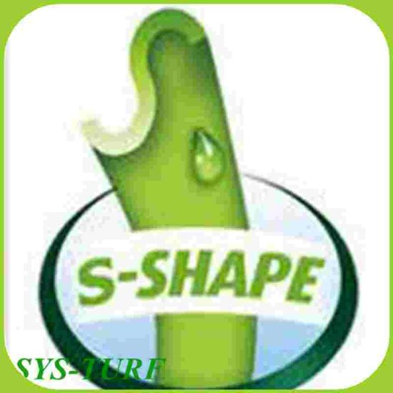 S Shape Yarn Best Quality Three Colors Soccer Turf pictures & photos