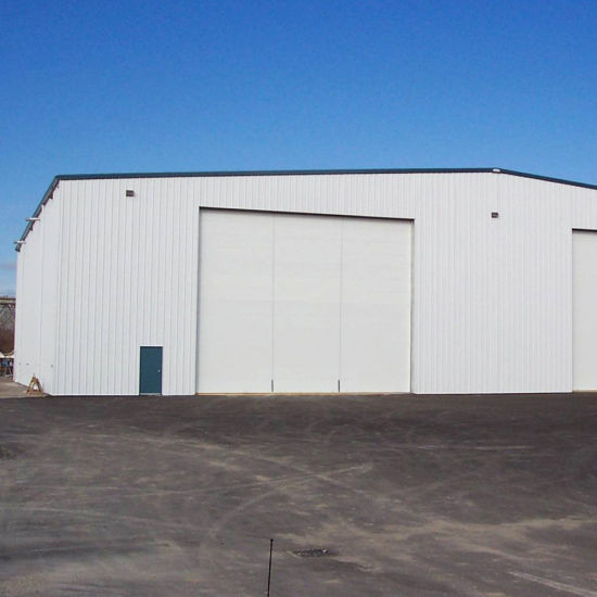 Portal Frame Feed Warehouse with Steel Sheet Roof and Wall pictures & photos