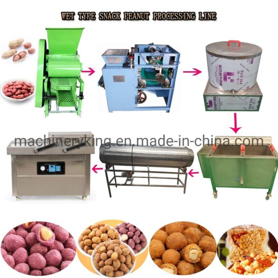 Industrial Pork Rind Philippine Banana Chips Frying Machine Peanut Frying Production Line
