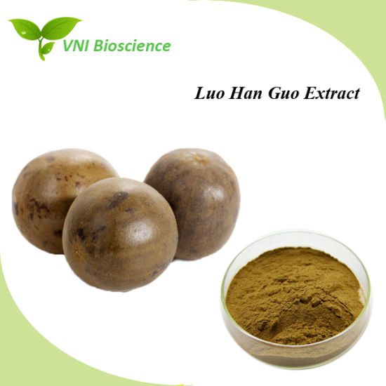 Manufacturer Supply Natural Luo Han Guo Extract for Treating Cough pictures & photos