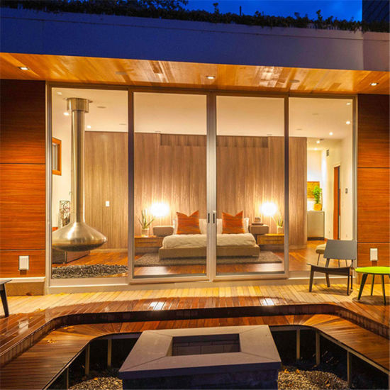 China Commercial Modern Storefront Interior Swing Glass Doors