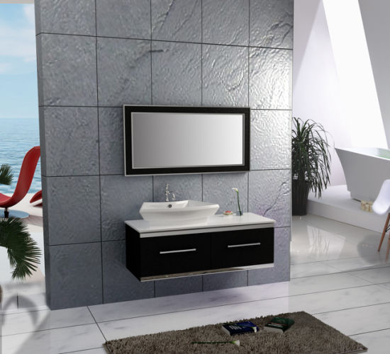 Mirrored Stainless Steel Home Hotel Modern Furniture Bathroom Vanity Cabinets