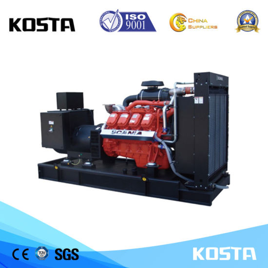 China EPA Tier3 Approved 60Hz with Scania Engines 500kVA