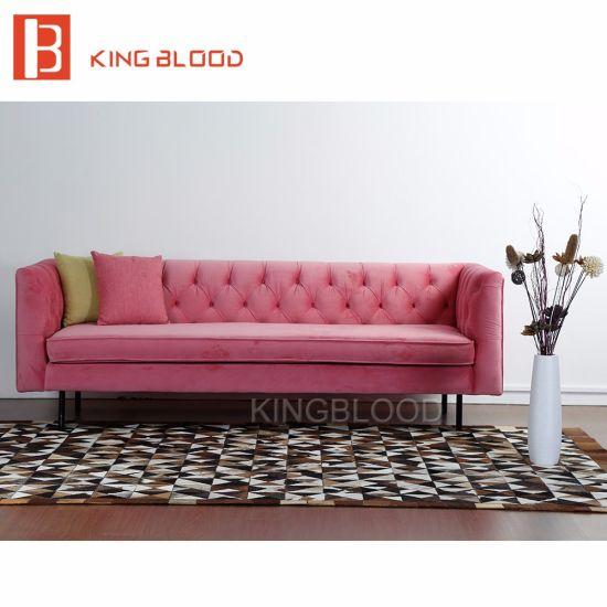 China 2017 2 Seater Gold Velvet Arab Fabric Sofa Set New Designs ...