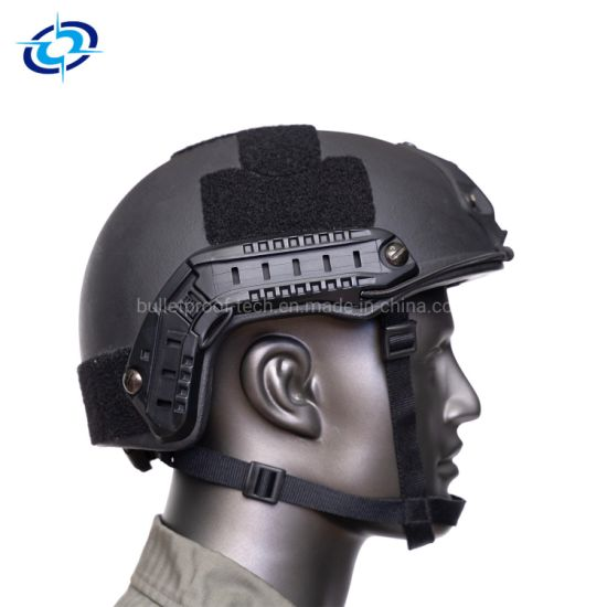 Military/Army Bulletproof Helmet Kevlar/PE Fast Helmet with High Ballistic Performance pictures & photos