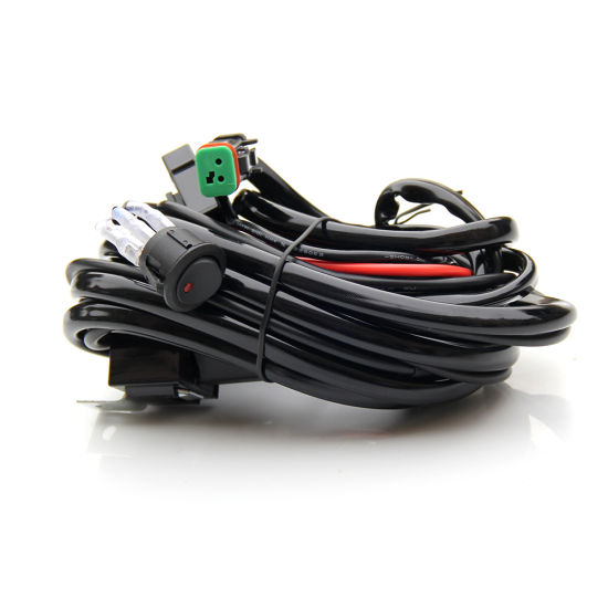 Super China Led Headlight Work Light Bar Wiring Harness Connector For Auto Wiring Cloud Oideiuggs Outletorg
