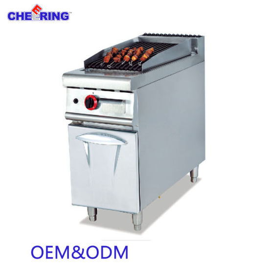 Factory Hot Sale Gas Griddle with Cabinet pictures & photos