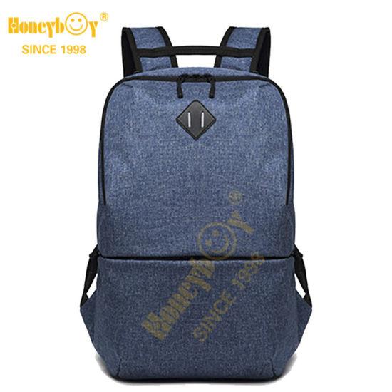 Factory Direct Custom Logo Men Laptop Backpack 15.6 Student School Travel Bags for Teenager