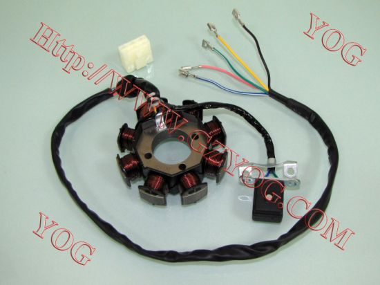 Motorcycle Auto Spare Parts Magneto Coil Engine Spare Parts Stator Comp. for FT125 Italika125z 250z pictures & photos