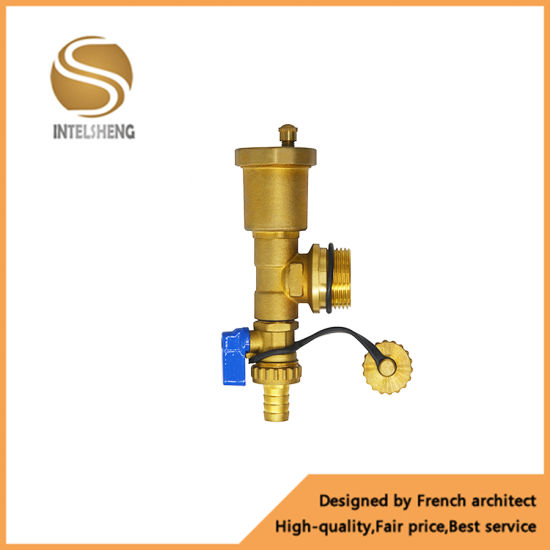 China Brass Manifoldswater Diverter Brass Radiator Valve For Floor
