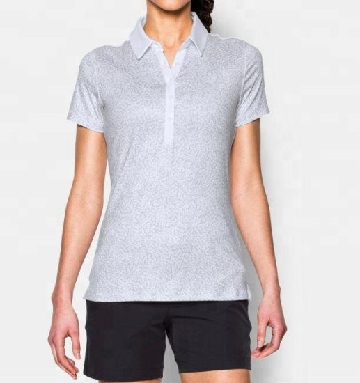 9feeb1a586c China Dry Fit Sports Wear Casual Short Sleeve Women Polo Shirt ...