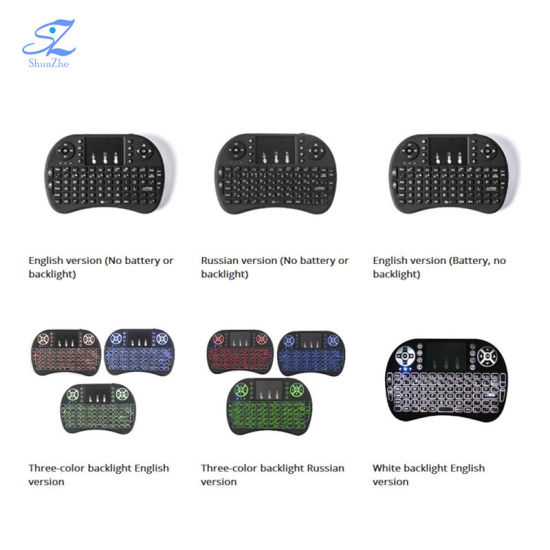 Wireless Bluetooth Mini USB 2.4G I8 Game Keyboard for Smart TV iPad Tablet pictures & photos
