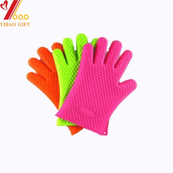 Fashion Silicone Gloves for Kitchen