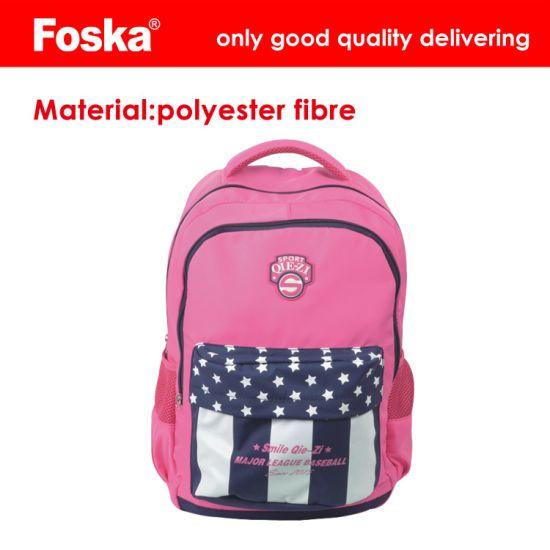 China Foska Hot Sale Polyester Fibre School Bag - China School Bag ... 254068a1f1514