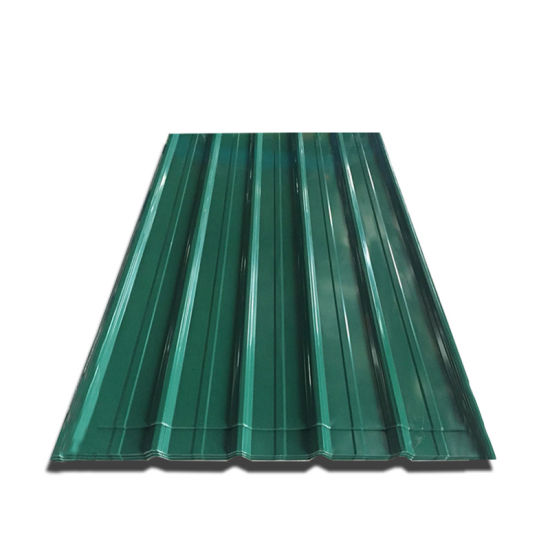 Galvanized Color Coated Prepainted Corrugated ASTM Metal Roof Sheet