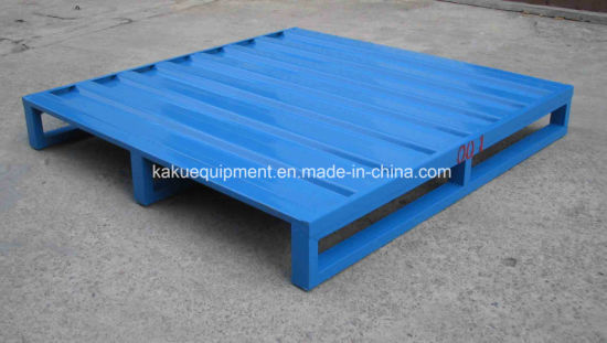 Warehouse Storage Heavy Duty Steel Metal Pallet pictures & photos