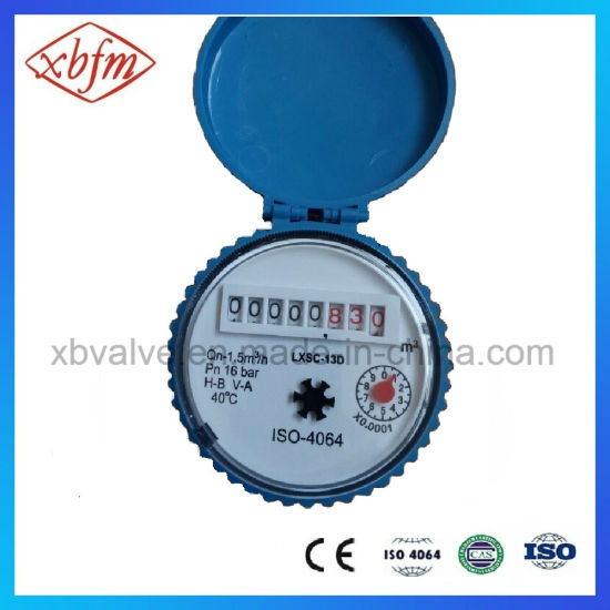Single-Jet Dry-Type Vane Wheel Cold Water Meter pictures & photos