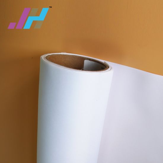 100% Polyester Woven Backlit Textile Fabric Coated for Inkjet Printing