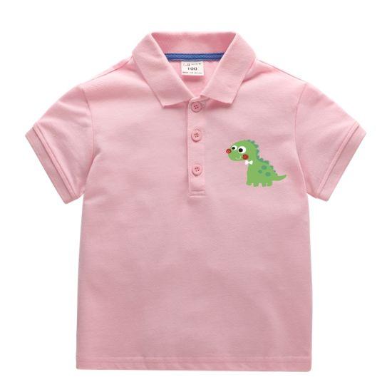 c17bb90bc China 100% Cotton Comfortable Kids Boy Polo Shirts Print Dragon ...