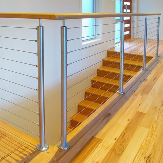 DIY Stainless Steel Balustrades System/Stainless Steel Wire Balustrade/Cable  Railing
