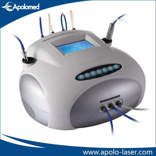 Diamond and Crystal Dermabrasion Skin Peeling Machine (HS-106) pictures & photos