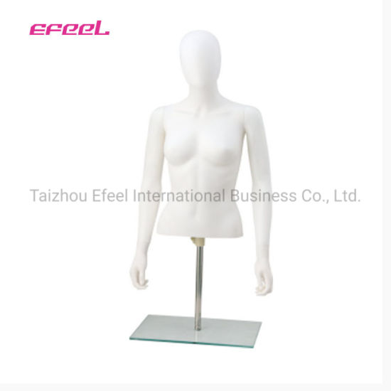 China 2019 Dress Form Lady Torso Half Body Mannequin for