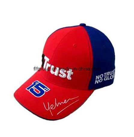 High Quality Competitive Price 6 Panel 100% Cotton Embroidery Baseball Caps pictures & photos