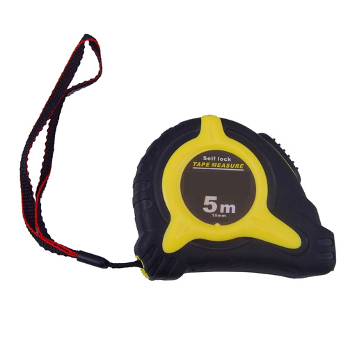 Auto Lock Rubber Coated Measuring Tape with Magnetic Tip Mte1005