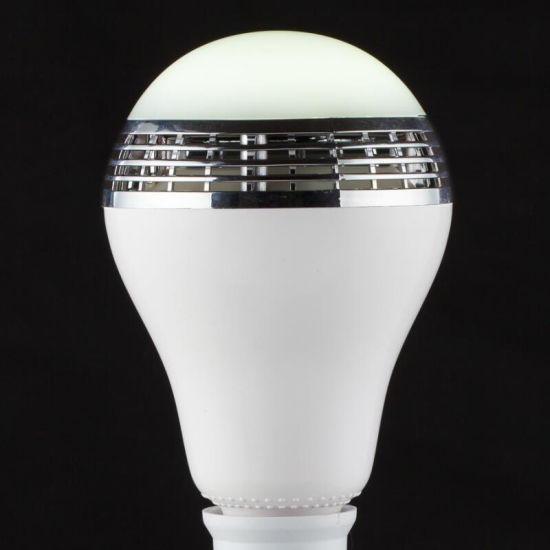 New Products Subwoofer APP Control Wireless Bulb LED Light Bluetooth Speaker
