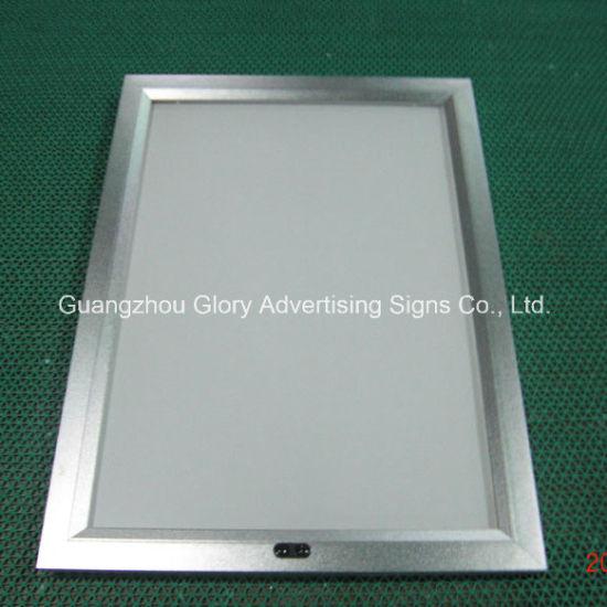 China Aluminium Frame Sensor Magic Mirror Advertising Light Box ...