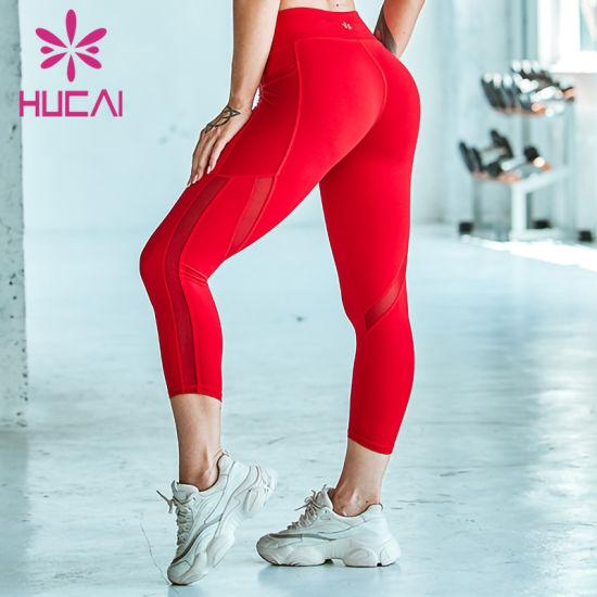 2020 Custom Leggings Women Fitness Yoga Leggings with High Waist