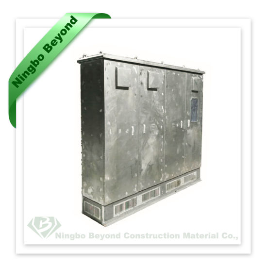 Wholesale China Solid Rectangle Metal Outdoor Semifinished Cabinet